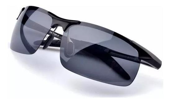 Óculos Polarizado Esportivo Sensível Ao Sol Alumínio Uv400