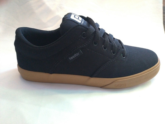 Tenis Freeday Flip Eco Preto/natural