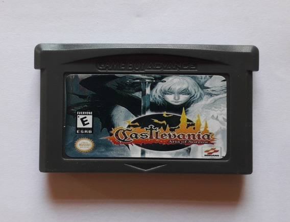 Castlevania Aria Of Sorrow Americano Game Boy Advance Gba
