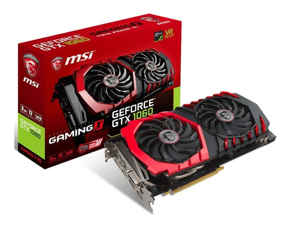 Placa De Vídeo Msi Nvidia Geforce Gtx 1060 3gb Gtx 1060 Gami