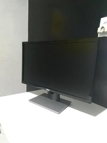 Carcaça Monitor Dell De 23.8 Se2416h ( Lcd Danificado )