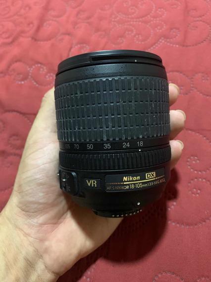 Lente Nikon 18 - 105