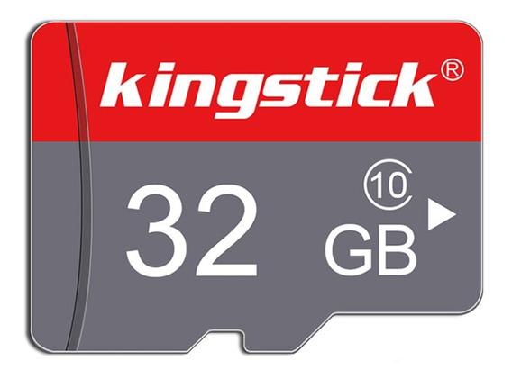 Cartão De Memoria Kingstick 32gb Classe 10 Alta Velocidade