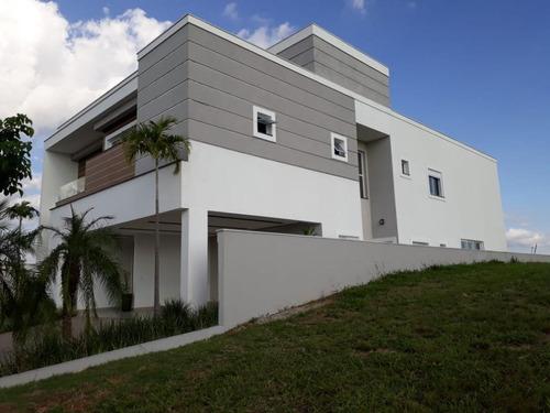 Alto Padrão 5 Suítes À Venda, 395 M² Por R$ 2.200.000 - Alphaville Nova Esplanada I - Sorocaba/sp - Ca1092
