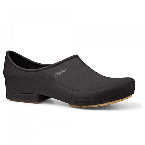 Sapato Flip Impermeável Preto Com Solado De Borracha Nº 40-b