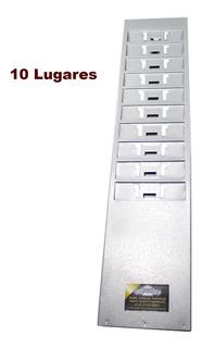 Porta Cartoes Chapeira De 10 Lugares Kit C/ 5 Unidades