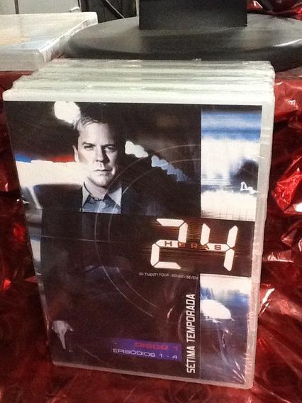 Dvd 24 Horas 7ª Temporada 5 Discos