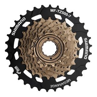 Piñon Shimano Mf Tz500 7v. 14-34 / Bikefactory.cl