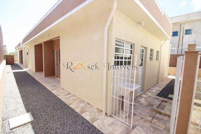 Casa Geminada Em Condomínio Fechado, Lado Praia -cod: 291 - V291