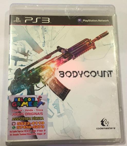 Jogo Bodycount Playstation 3 Ps3 Mídia Física Codemasters