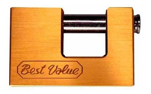 Candado Best-value Anti Cizalla Bronce 94mm