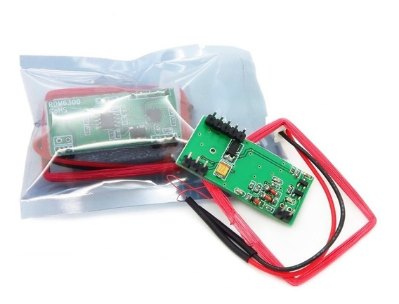 Rfid Rdm6300 Card Reader 125khz Uart Interface