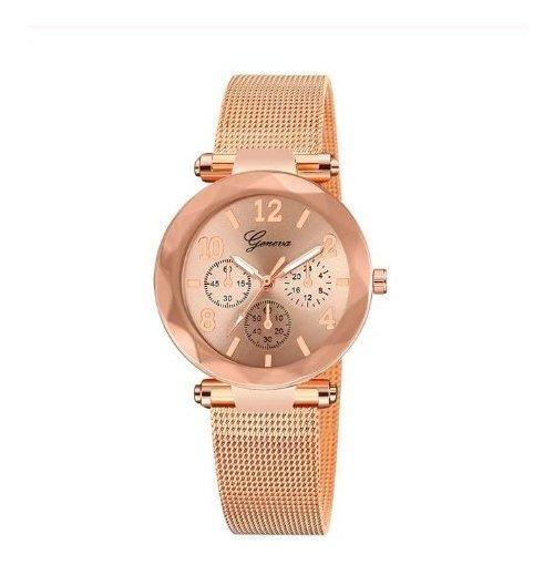 Relógio Feminino De Pulso - Geneva - Envio Imediato -