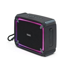 Ihome Ibt372bg Parlante Bluetooth Portátil A Prueba De Agua
