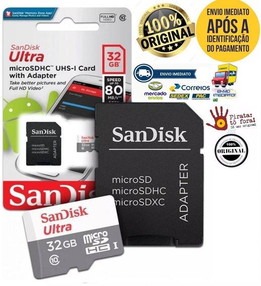3 Micro Sd Ultra 16gb/ Micro Sd 32gb/ Micro Sd 64gb Lacrado