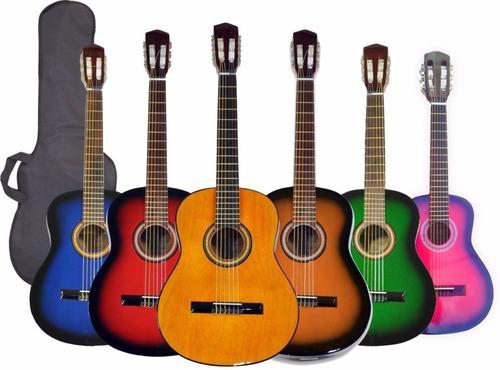 Guitarra Criolla Estudio + Funda Hot Sale Mejor Precio