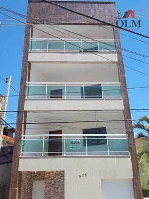 Apartamento Com 1 Dormitório Para Alugar, 30 M² Por R$ 800/mês - Benfica - Fortaleza/ce - Ap0117