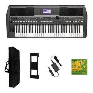 Teclado Musical Yamaha Psr S670 + Ritimos Sampleado