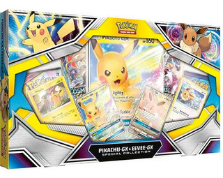 Pokémon Special Collection Pikachu Evee Gx Ingles O Español