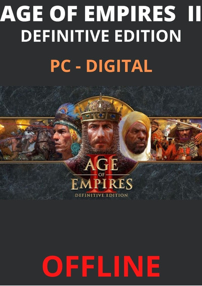 Age Of Empires 2 Definitive Edition - Pc Offline Digital