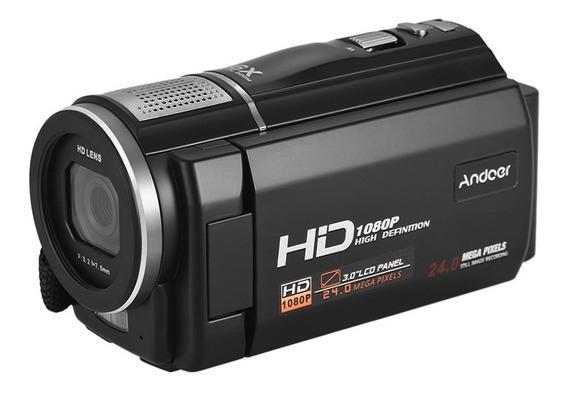 Recorder Hdv-f5 1080p Completo Hd Câmera Vídeo Digital Dvand