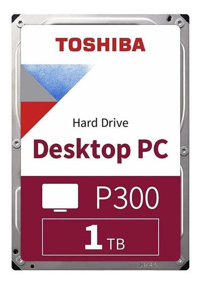 Disco rígido interno Toshiba P300 HDWD110UZSVA 1TB prata