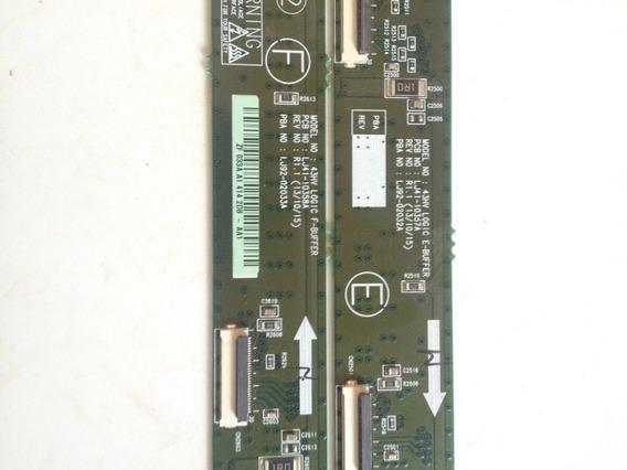 Placas Buffer Tv Samsung Plasma 43 O Par
