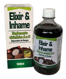 Elixir E Inhame Natural - 500ml, Erva Nativa
