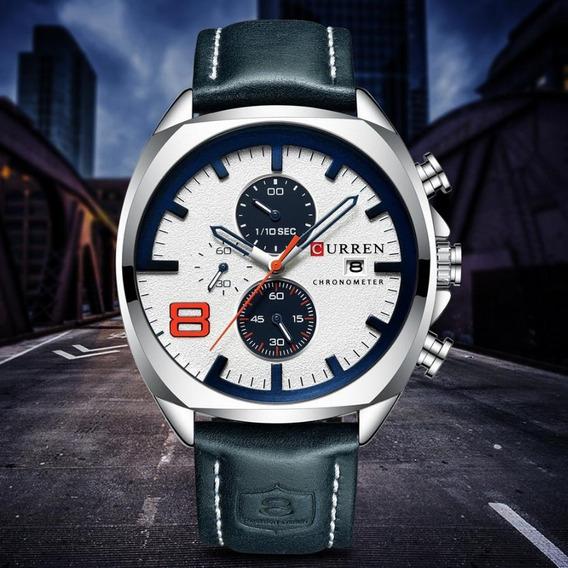 Relógios Top Marca De Luxo Curren Analógico Esporte Militar
