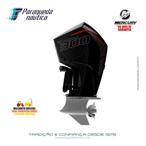 Motor De Popa Mercury 4t 300hp R L V8 Dts Verado Racing