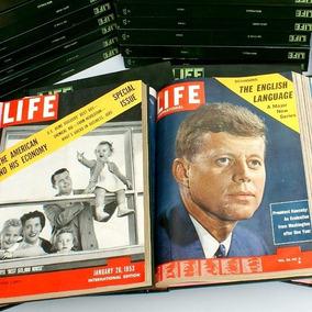 Revista Life Magazine Coleção -1953-1968 Raridade