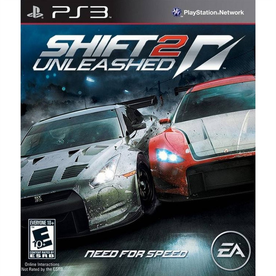 Need For Speed: Shift 2 Unleashed - Ps3 Lacrado