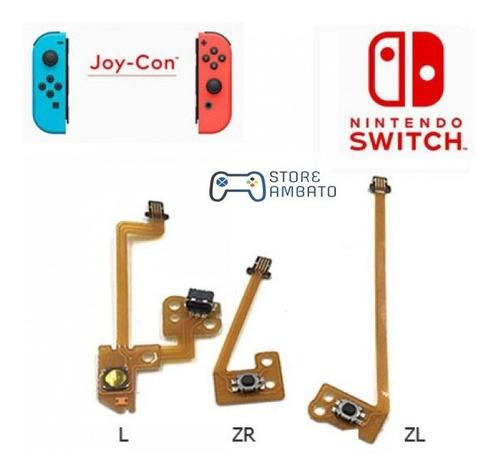 Flex Mando Joy Con Switch - Boton Zl Zr  L