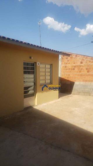 Casa Com 2 Dormitórios À Venda Por R$ 130.000,00 - Cdhu Iv - Olímpia/sp - Ca0098