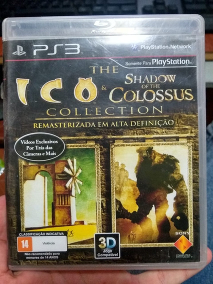 Ico & Shadow Of The Colossus Collection Ps3 Original