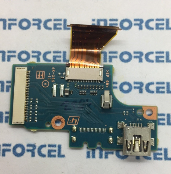 Placa Dados Usb Camera Dcr Sx83 Original Retirado