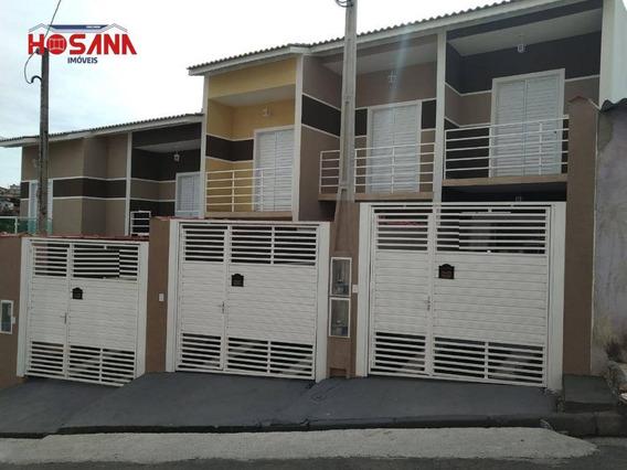 Sobrado Com 2 Dormitórios À Venda, 70 M² Por R$ 230.000,00 - Jardim Progresso - Franco Da Rocha/sp - So0960