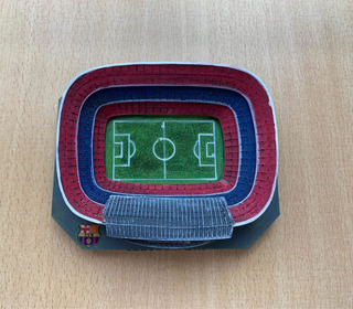 Estadio Camp Nou Barcelona Miniatura Souvenir