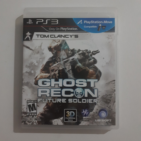 Jogo Ps3 Ghost Recon Future Soldier Only On Playstation .