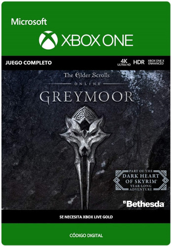 The Elder Scrolls Online: Greymoor - Xbox One Código Digital