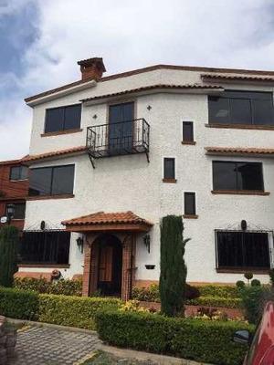 Casa En Condominio En Renta En Av. Acueducto, Xochimilco