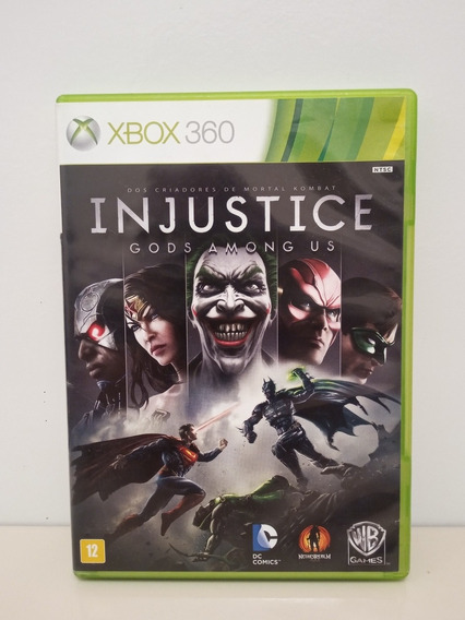 Injustice Gods Among Us Xbox 360 Midia Física Original