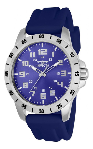 Reloj Invicta 21836 Azul Hombres