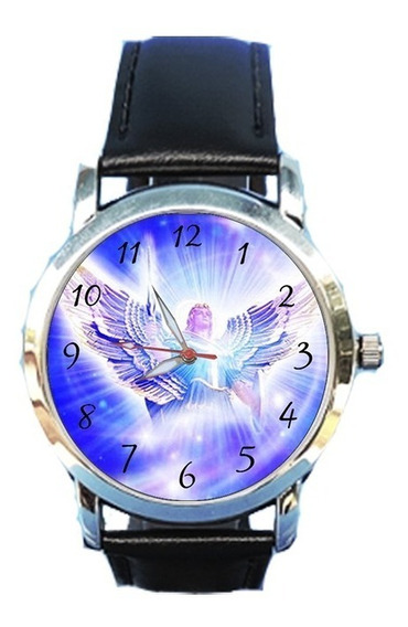 Relógio São Miguel Arcanjo Unissex Igreja Católica Jesus