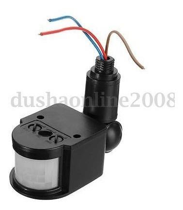 HomeDecTime E27 Enchufe Sensor De Movimiento Infrarrojo Interruptor Autom/ático De La L/ámpara De Luz Interruptor AC110V-240V
