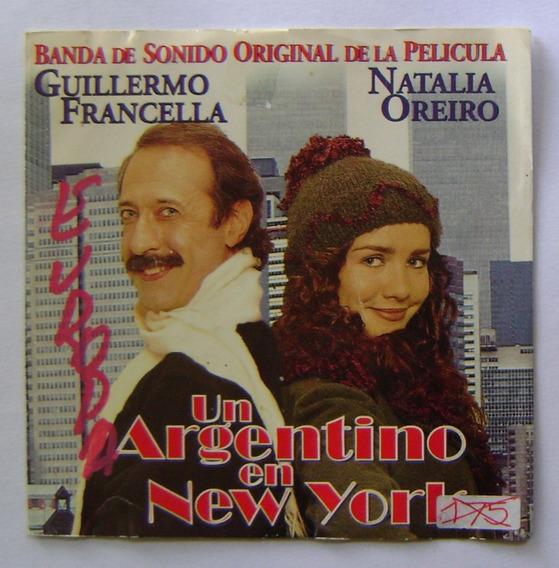Natalia Oreiro - Un Argentino En New York 1998 Cd Orig Promo