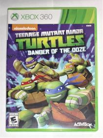 Teenage Mutant Ninja Turtles Danger Ooze Original Xbox 360