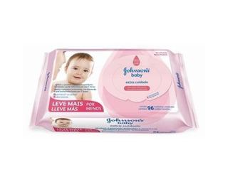 Toallitas Humedas Bebe Johnsons Baby Rosa D 96 X 12 Paquetes