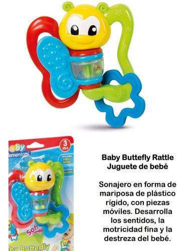 Sonajero Baby Butterfly Rattle Juguete Para Bebé