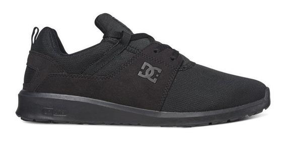 Tênis Dc Shoes Heathrow Black Black Original Frete Gratis